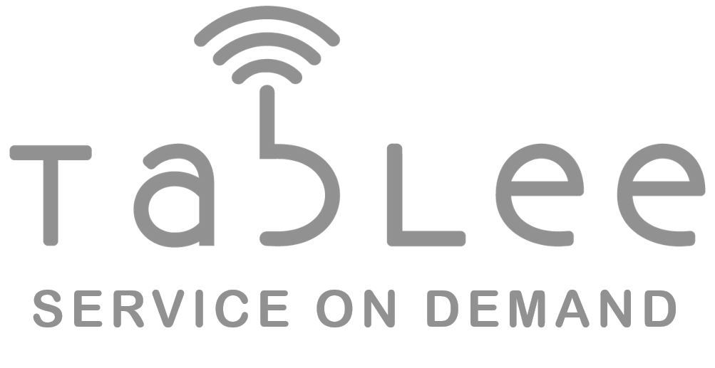 Tablee Service on Demand Logo GREY